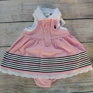 Ralph Lauren 2 Pc sleveless polo shirt dress
